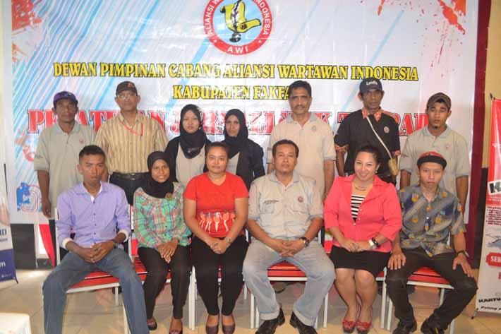 Mahasiswa peserta Pelatihan Jurnalistik III