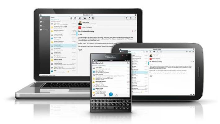BlackBerry Messenger Blend