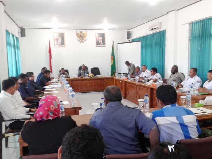 DPRD Kabupaten Fakfak RDP dengan pihak terkait Pelabuhan Fakfak