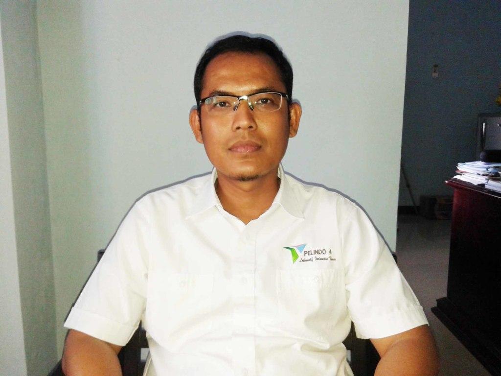 Menejer Pelindo IV Cabang Fakfak, Bambang P Handoko