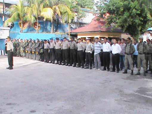 Apel Siaga jelang 1 Desember libatkan 250 personil keamanan
