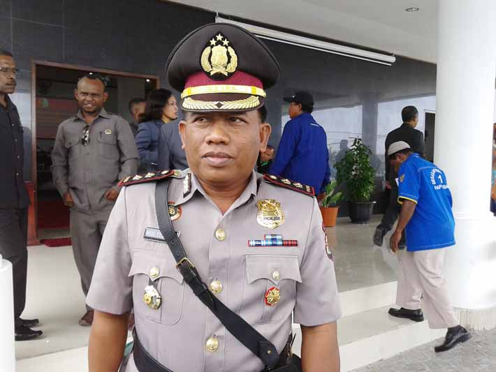 Kapolres Fakfak, AKBP. H. Drs. Muhammad Yusuf Th, SH. MH.