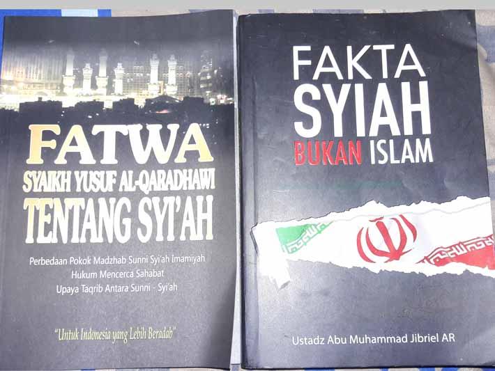 Buku-buku yang membahas masalah syiah