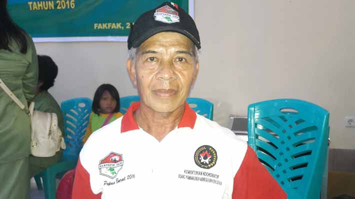 Haris Yasin atau Kang Bayu, donor darah yang ke 102