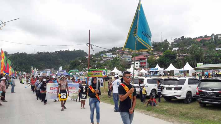 Peserta PEDA III dari Kabupaten Kaimana