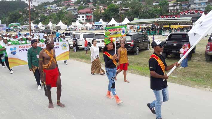Peserta PEDA III dari Kota Manokwari