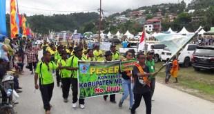 Peserta PEDA III dari Kabupaten Maybrat