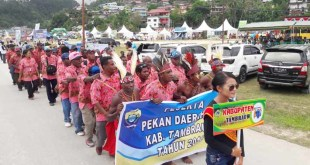 Peserta PEDA III dari Kabupaten Tambraw
