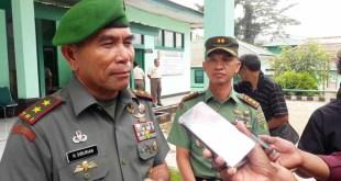 Pangdam XVII Cendrawasih, Mayjen TNI H Siburian didampingi Dandim 1706 Fakfak, Letkol Inf. Andi Gus Wulandri