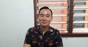 Kelvin Winata, Manager tim basket putra Papua Barat pada PON XIX Jawa Barat