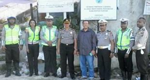 Wakapolres silaturohim ke secretariat DPC Aliansi Wartawan Indonesia Kabupaten Fakfak