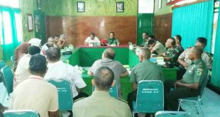 Suasana Rakornis TMMD ke 97 di Makodim 1706/Fakfak