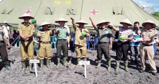 Tanam padi serentak di SP 2 Kampung Warisa Mulya, Distrik Tomage, Kabupaten Fakfak
