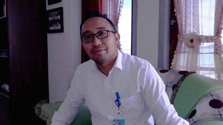 General Manager PT Pelindo IV Cabang Fakfak, Teguh Firdaus.