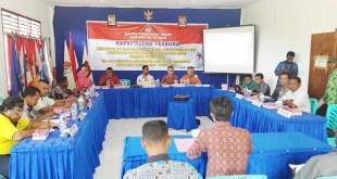 Suasana Rapat Pleno KPU Fakfak