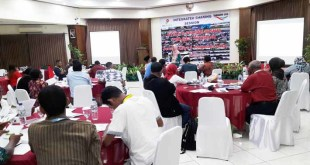 Suasana Integrated Sharing Session yang diselenggarakan BP
