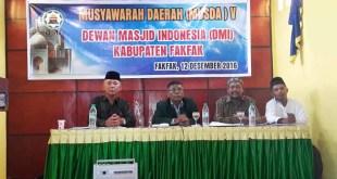 Laporan Pertanggungjawaban Oleh Djamaluddin Leto diterima peserta Musda V