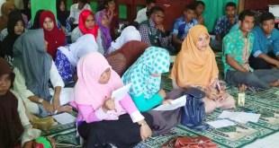 Suasana Training Motivasi di SD Islam Terpadu As Salaam Fakfak