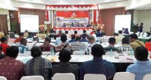 Rapat Pleno terbuka Penetapan DPT Pilgub Provinsi Papua Barat Tahun 2017 Tingkat Kabupaten Fakfak