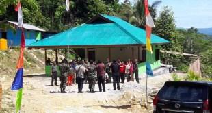 Balai Kampung Wrikapal hasil TMMD ke 97, dirasakan manfaatnya oleh masyarakat