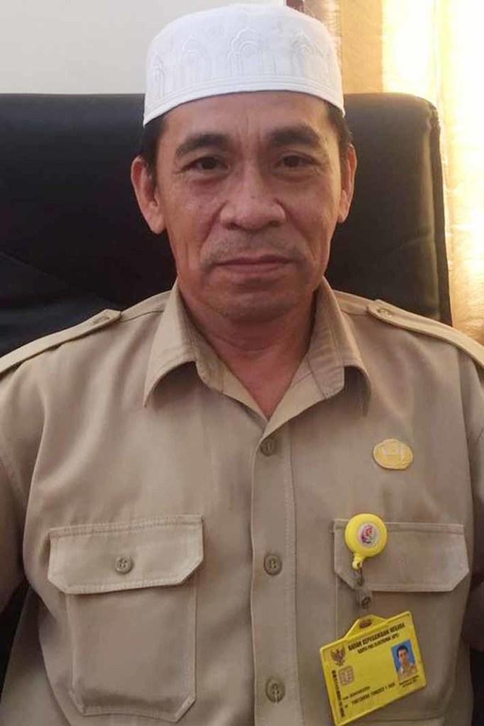 Sekretaris Dinas Kearsipan dan Perpustakan Kabupaten Fakfak, Baharudin, SE.
