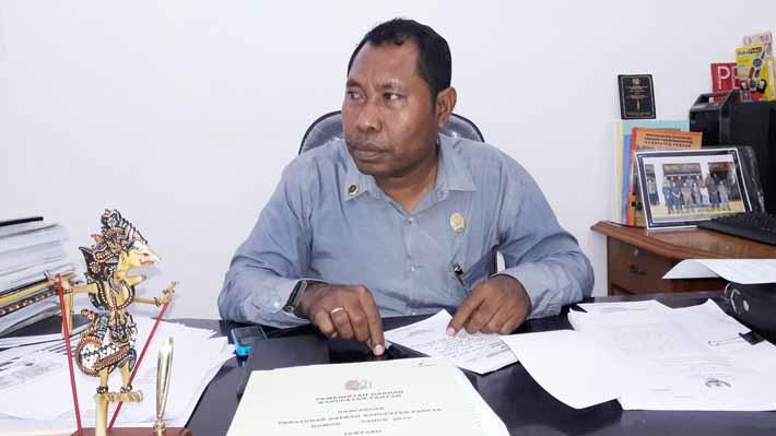 Sekretaris Komisi II DPRD Kabupaten Fakfak, Safi Yarkuran, S.Sos.
