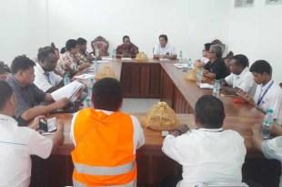 GM PLN WP2B bersama rombongan tatap muka dengan Pemda Kabupaten Fakfak