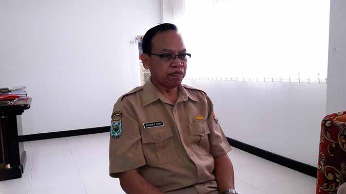 Nasrun P Elake, Sekretaris Daerah Kabupaten Fakfak