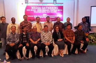 Media Gathering dan Uji Kompetensi Wartawan juga didukung BP