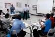 Suasana belajar dalam kelas di Petrotekno