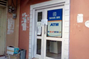ATM BRI yang dibobol Mr. G, tetapi gagal