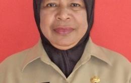 Ummy Uswanas, SE. Kepala Dinas Kearsipan dan Perpustakaan Kabupaten Fakfak