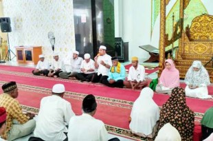 Jamaah haji AFKN diberangkatkan dari Masjid Agung Baitul Makmur, Fakfak