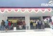 Puluhan orang memalang Bank Mandiri Cabang Fakfak