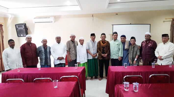Suasana pelatihan menejemen kemasjidan di aula Masjid Jogokariyan, Yogjakarta