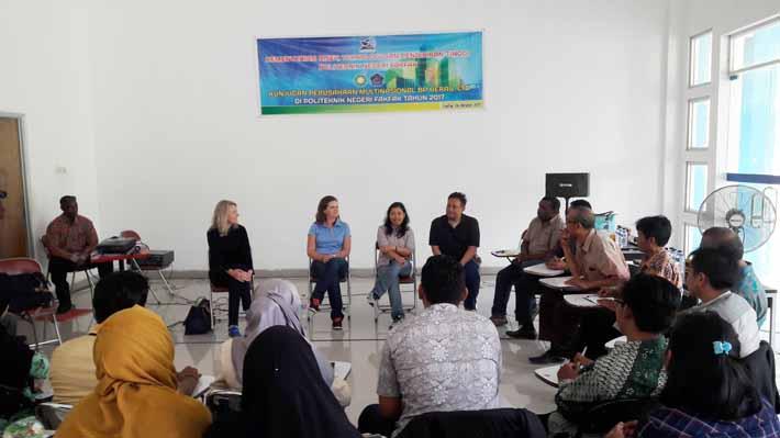 Kunjungan Petinggi BP ke Politeknik Negeri Fakfak