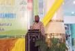 Ustadz Fadzlan Garamatan saat tablik akbar di Masjid Agung Baitul Makmur Fakfak