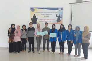 Peserta English Speech Competition di Politeknik Fakfak