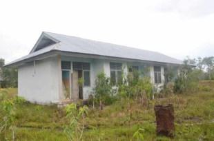 Bangunan untuk staf Puskesmas yang belum difungsikan