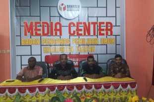 Press conference Bawaslu usai peresmian Pojok Pengawasan