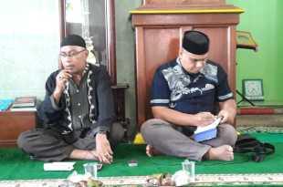 Ketua dan Sekretaris MUI Kabupaten Fakfak, Drs. Mohammadon Dg Husein, M.Pd. dan Aslan B Mabubessy