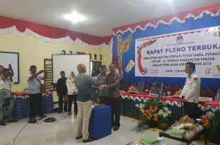 Rapat Pleno Terbuka Penetapan DPTHP-2