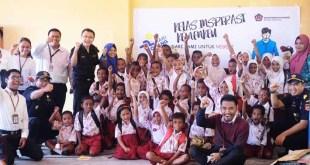 Keceriaan bersama siswa-siswi SDN Kotam