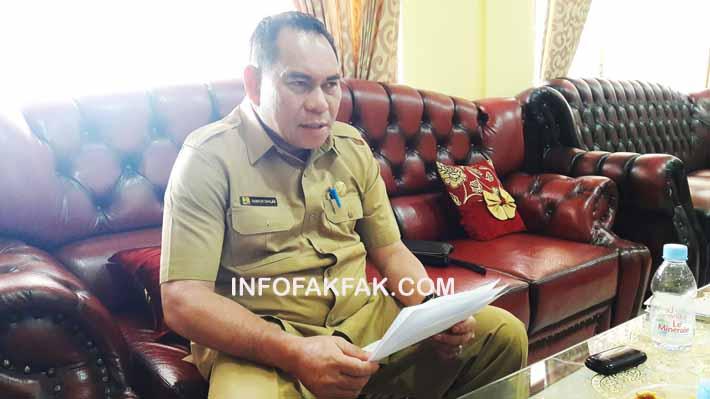 Samaun Dahlan, S.Sos. M.A.P., Kepala Dinas PUPR Kabupaten Fakfak