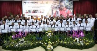 34 peserta angkatan I program teknisi Tangguh berhasil menyelesaikan program insentif tiga tahun