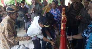 """Wakil Bupati Fakfak meresmikan rumah singgah """"Griyo Raharjo"""" Ikawara Kabaupaten Fakfak"""