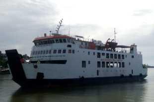 KMP Erana, melayani pelayaran rute Fakfak-Kaimana-Tual, PP.