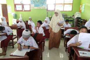 Suasana try out JSIT di SDIT As Salaam Fakfak
