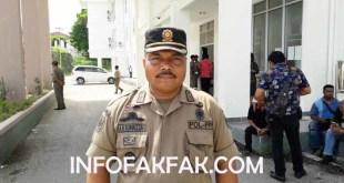 Kasatpol PP Kabupaten Fakfak, Arif H Rumagesan