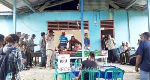 Pelaksanaan PSU di TPS 01 Kampung Ubadari, Distrik Kayuni, Fakfak